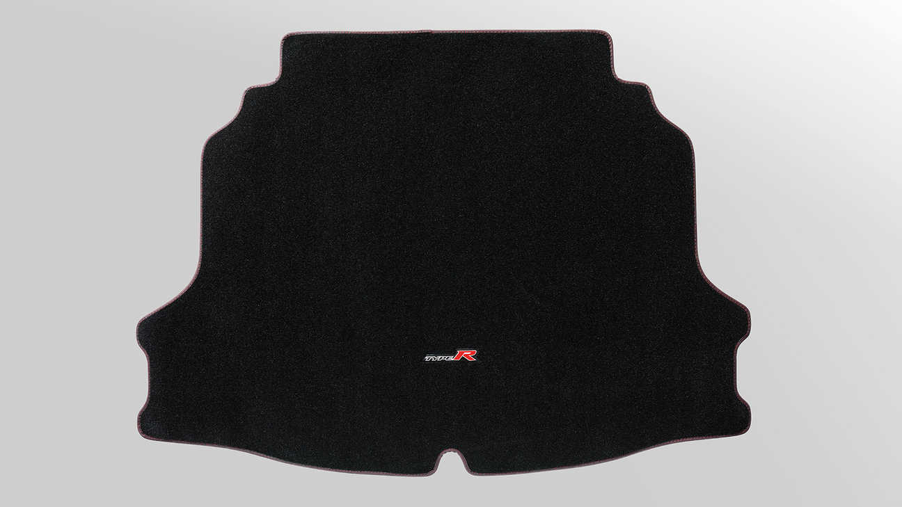 Tapis de coffre de la Honda Civic Type R.