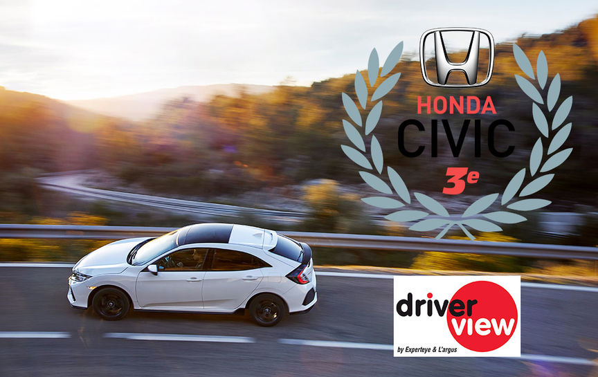 Palmares civic driverview