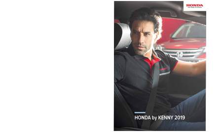 Catalogue Collection Textile & Accessoires Honda Kenny 2017